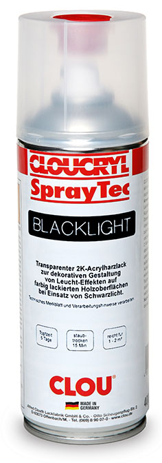 Cloucryl SprayTec BlackLight
