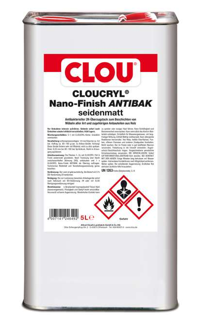 CLOUCRYL Nano-Finish ANTIBAK